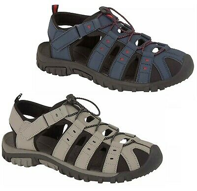 Mens Toggle Summer Hiking Trail Comfort Sports Gladiator Mules Sandals Size  • 13.89£