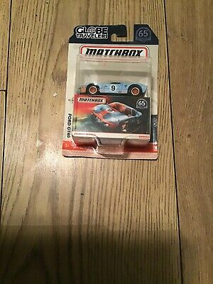 Ford Gt40 Matchbox Gulf Globe Travelers With Box  • 24£