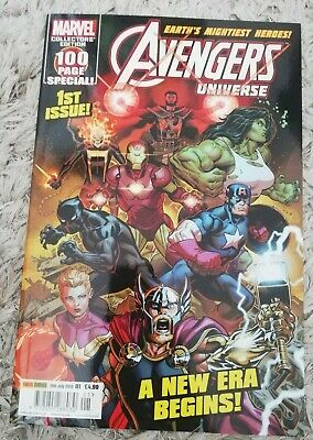 Avengers: Earth's Mightiest Heroes Issue 1 (July 2019, Marvel) • 9.99£