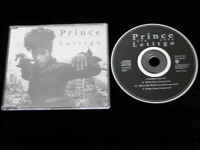 Prince Let It Go CD Single 4 Track WO260CD • 9.99£
