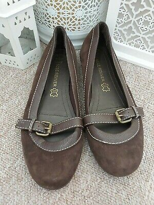 £5.50 • Buy Next Sole Reviver Brown Suede Shoes Size 4