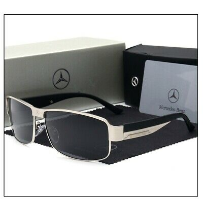 Mercedes Benz Sunglasses With Mercedes Box Men Women Polarized Driving UV400 E • 18.16£