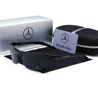 Mercedes Benz Sunglasses With Mercedes Box Men Women Polarized Driving UV400 F • 18.16£