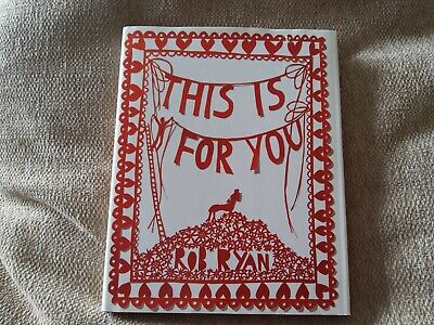 This Is For You By Rob Ryan (Hardback, 2007) • 8£