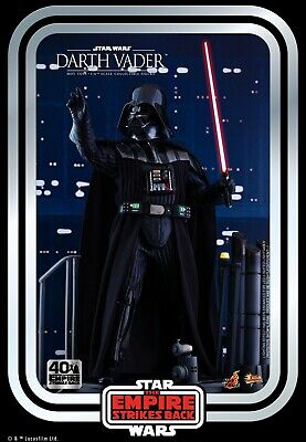 $319 • Buy Hot Toys Star Wars The Empire Strikes Back 1/6 Darth Vader 40th Anniversary