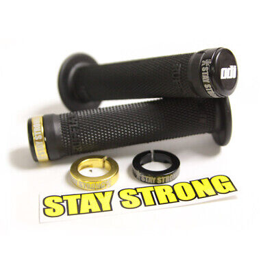 £31.99 • Buy ODI Stay Strong BMX Bicycle Cycle Bike Lock On Grips Black - Pair