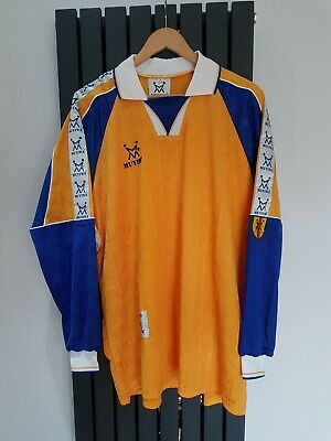 £155 • Buy Mens Football Team Kit - 15 X Shirts And 14 X Shorts In Yellow/Blue  Size Large