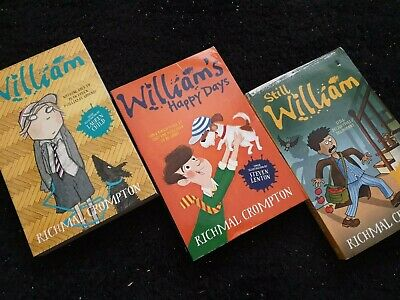 Just William Collection Series -8 Books Set- By Richmal Crompton NEW RRP £55.92 • 24.90£