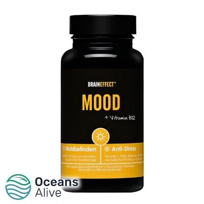 £38.95 • Buy MOOD With Vitamin B12 And L-tryptophan   BRAINEFFECT   90 Capsules