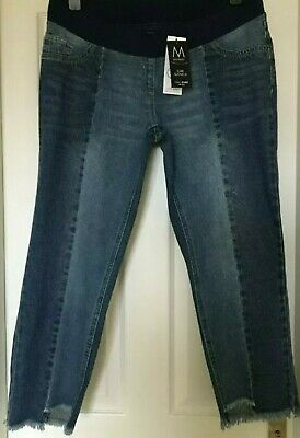 £12.99 • Buy Womens Next MATERNITY CROP JEANS  STRETCH SLIM SLOUCH Bnwt RRP £32 Size UK 12r