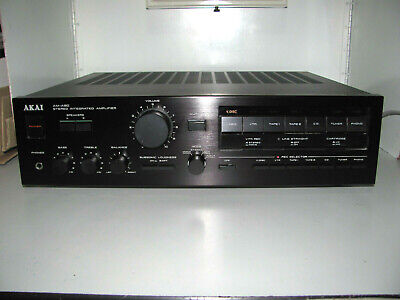 $418.71 • Buy Akai AM-A90 Amplifier High Power Top Of Line Audiophile Made In Japan Mint
