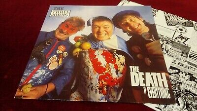 The Three Johns - The Death Of Everything - Original Uk Lp With Lyric Inner • 5.99£
