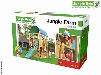 £200 • Buy Jungle Gym Farm Climbing Frame  FULL KIT WITHOUT TIMBER