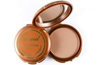 Laval Salon Deluxe Bronzing Face Powder Compact • 2.89£