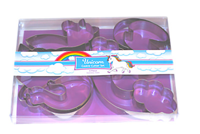 AU19 • Buy Unicorn 3D Cookie Cutter Boxed Set (4pce)