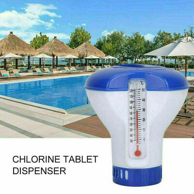 $8.89 • Buy Chlorine Dioxide Tablets & Dispenser Swimming Pool Cleaning Tub Spa Disinfection