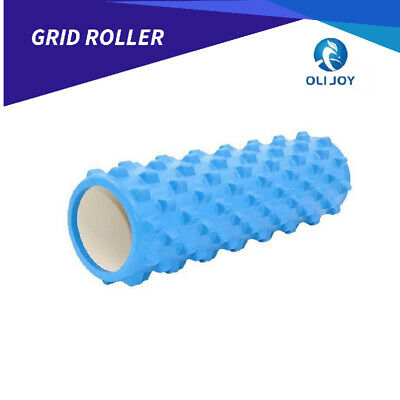 AU33.25 • Buy Grid Roller Yoga Foam Trigger Point Massage Pilates Physio Gym Exercise EVA PVC