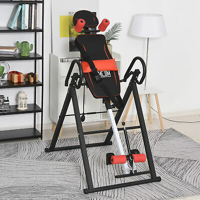 £94.99 • Buy HOMCOM Gravity Adjustable Inversion Table Safety Treatment Pain Relief