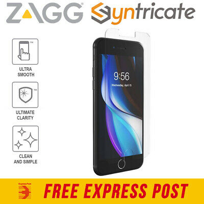 AU49.95 • Buy IPhone SE 2020 ZAGG InvisibleShield Glass Elite+ Anti-Bacterial Screen Protector