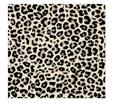 $5.59 • Buy LEOPARD Skin Fur PRINT 22  Bandana Face Neck Scarf Head Scarves Wrap Arm Cover