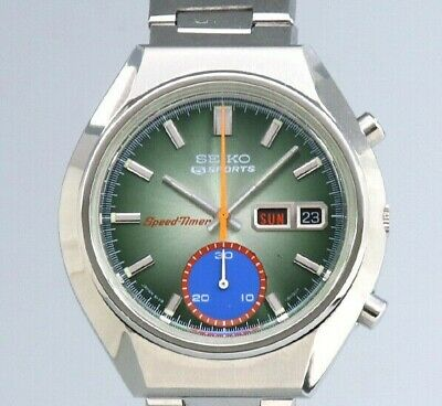 $ CDN1662.59 • Buy SEIKO 5 Sports Speedtimer 6139-8040 Original Dial Automatic Vintage Watch 1973's
