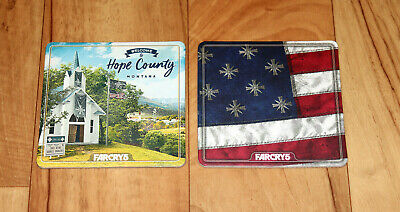 AU90.40 • Buy Far Cry 5 Welcome To Hope County Montana Promo Beverage Coaster Set PS4 Xbox One