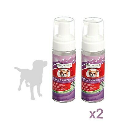 £9.99 • Buy 2 X Bogacare No Water Dry Foam Shampoo Dogs Puppy Odour Cleaning Clean Bacteria