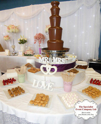 £375 • Buy Large 5 Tier Chocolate Fountain With LED Base  For HIRE - North West .