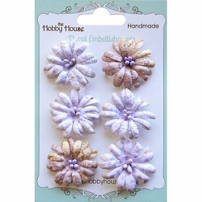 Boutique Paper Flowers - Daisies Lilac - The Hobby House • 3£