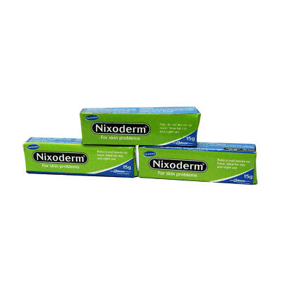 £15.93 • Buy Nixoderm Tube Cream For Skin Problems   Eczema, Blemish, Pimples (Pack Of 3)