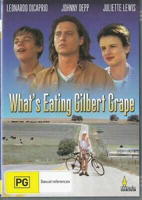 AU12.30 • Buy What's Eating Gilbert Grape - Johnny Depp -  New & Sealed Dvd - Free Local Post