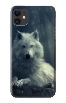 $ CDN21.78 • Buy S1516 White Wolf Case For IPHONE Samsung Smartphone ETC