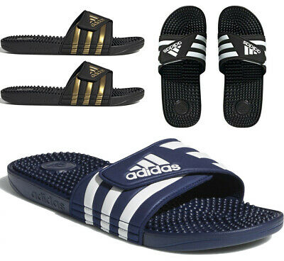 AU41.01 • Buy Mens Adidas Sliders Adissage Slides Massage Footbed Summer Beach Pool Shoes
