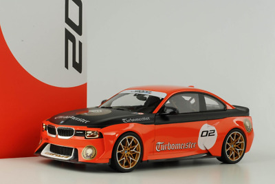 Genuine BMW 1:18 Miniature 2002 Tribute Turbomeister Collector's Model • 79.99£