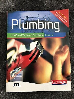 JTL Heinemann Plumbing NVQ And Techniical Certificate Level 2 Plumbing Book • 21.99£