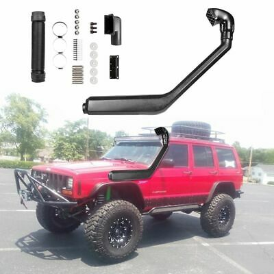 AU139.82 • Buy Jeep Cherokee 84-01 Cold Air Ram Intake System Rolling Head Snorkel Kit 4x4 New