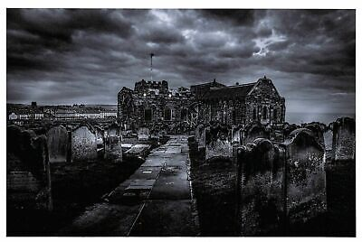 £2.99 • Buy Postcard, Gothic, Angry Sky Over St. Mary's Church, Whitby, North Yorkshire 6R