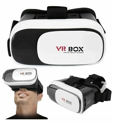 AU34.99 • Buy Virtual Reality 3D VR Glasses Headset Box Helmet For IPhone And Android Phone
