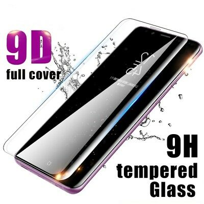 $ CDN3.29 • Buy 9D Screen Protector For Samsung Galaxy S8 S9 S10 Plus Note 10 9 8 Tempered Glass