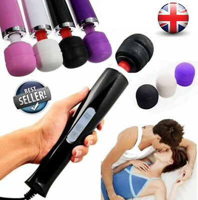 30 SPEED MAGIC WAND FULL BODY POWERFUL MASSAGER WITH HITACHI MOTOR Handheld UK • 13.29£