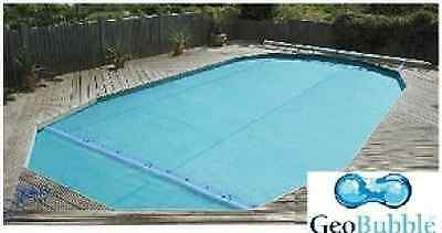 12ft X 24ft Sol Guard 500 Swimming Pool Solar Cover Covers + FREE Connectors • 229.99£