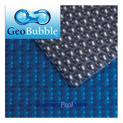 12ft X 24ft Silver / Blue 600 Swimming Pool Solar Cover Covers + FREE Connectors • 219.99£