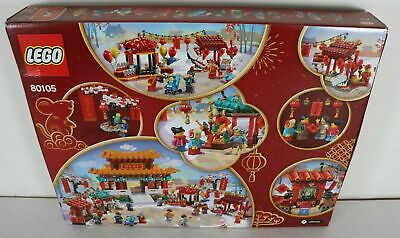 $164.99 • Buy LEGO 80105 Chinese New Year Temple Fair 1664pcs New In Hand -US Seller