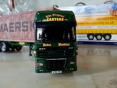 Corgi 1/50 Carters Daf 105 And Container Load • 70£
