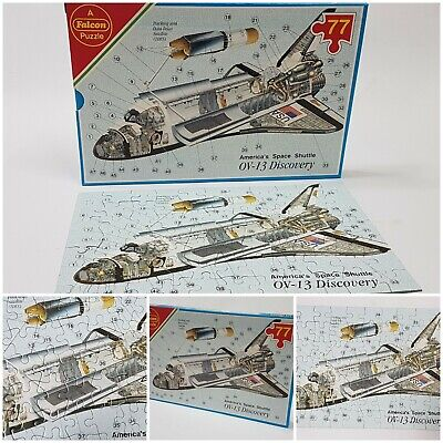 77 Pcs Discovery Space Shuttle Spaceship Puzzle Jigsaw Kids Learning Education • 3.62£