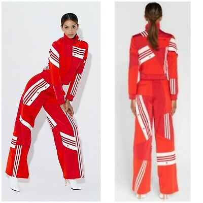 $444 • Buy NWT 2018 RED ADIDAS DANIELLE CATHARI Tracksuit Small Jacket, Small Pants