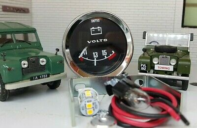 $ CDN123.77 • Buy Smiths Dash Panel Auxiliary Voltmeter Gauge LED Bulb Land Rover Series 1 2 2a 3