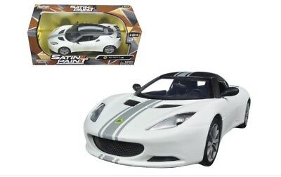 $ CDN48.07 • Buy G LGB 1:24 Scale Lotus Evora S Matt White Satin Motormax Diecast Model Car 79505