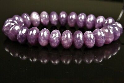 $10.09 • Buy Unique Purple Natural African Lepidolite Rondelle- 6.5mm X 4mm~ 25 Beads ~ 8159A