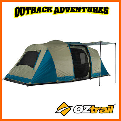 AU249 • Buy Oztrail Seascape 10p Dome Tent Camping 10 Person (3 Room) New Model Dtmsea-d